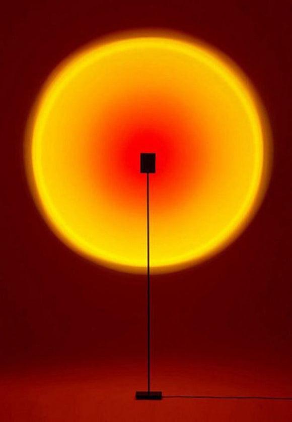 Ceaser Black Moon LED Floor Lamp | Minimalist Series