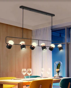 Gittan Black and Rose Gold Pendant Light | Industrial Series