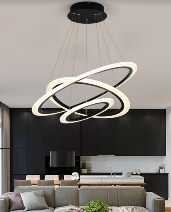 Aiera Modern LED Pendant Light (3 Rings) | Urban Series