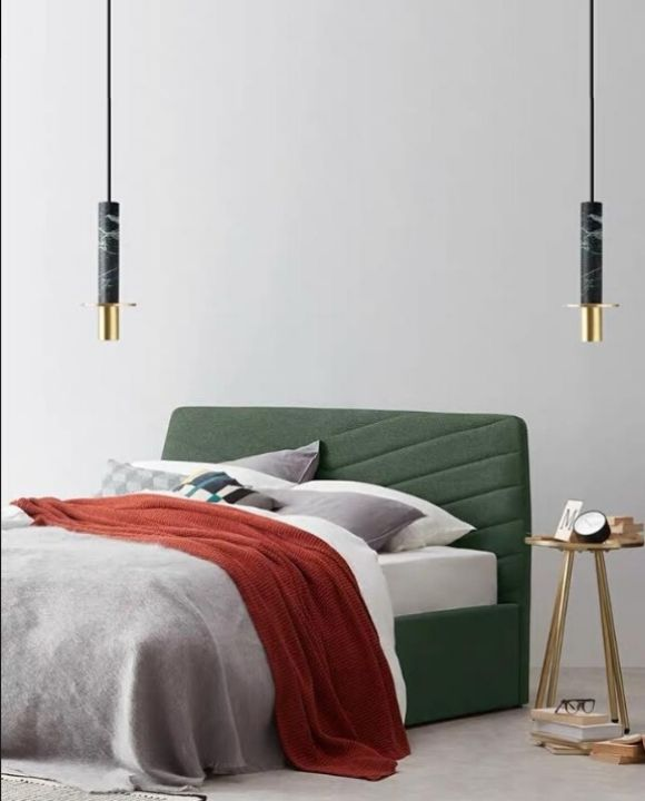 Black and Gold Marble Pendant Light | Marble Series