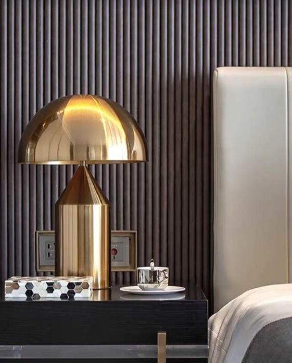 Exquisite Gold Table Lamp | Posh Series