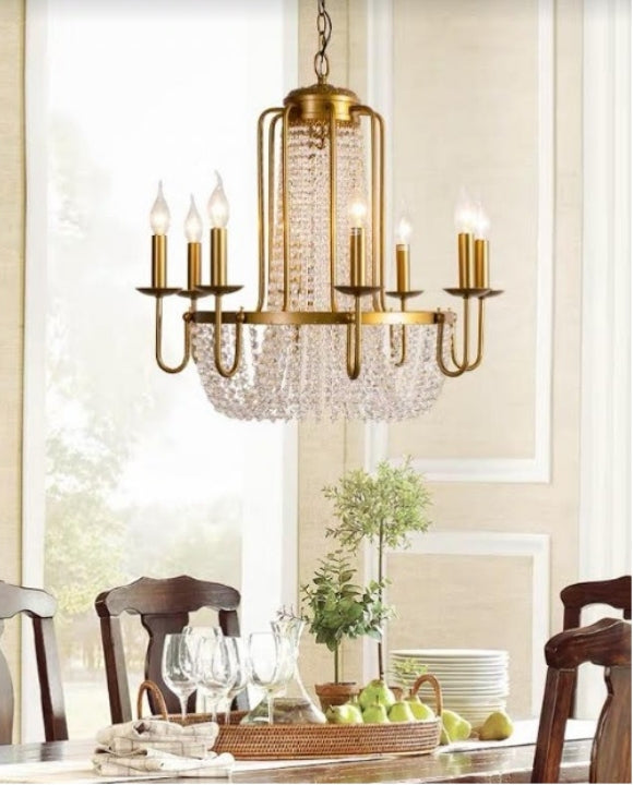 Gorgeous 8-candles Chandelier | Designer Series
