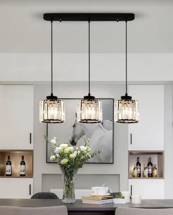 Trendy Crystal Pendant Light | Designer Series
