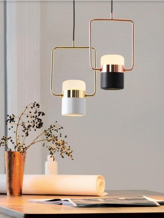 Modern Contemporary Rose Gold LED Pendant Light | New arrival