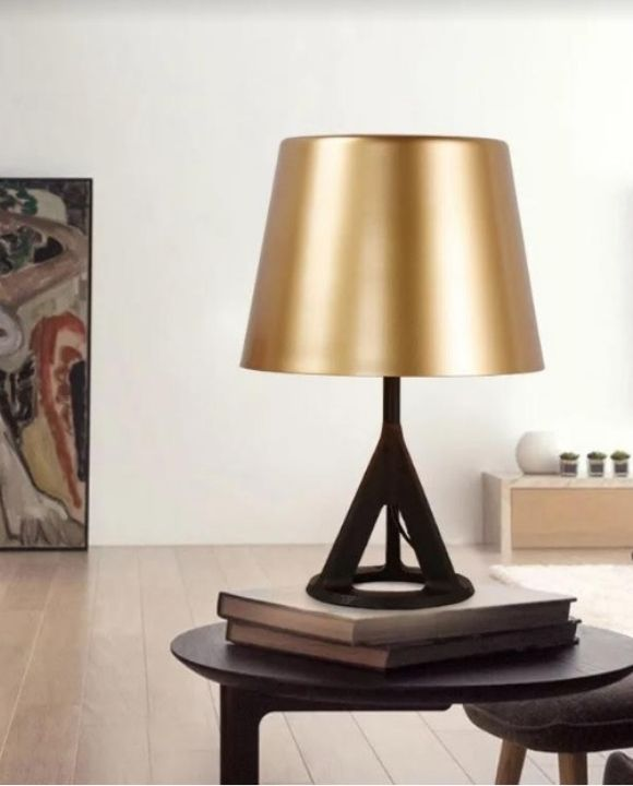 Black and Gold Table Lamp | Minimalist Series