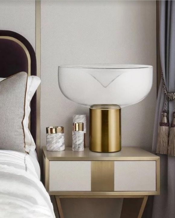 Gold Goblet Table Lamp | Designer Series