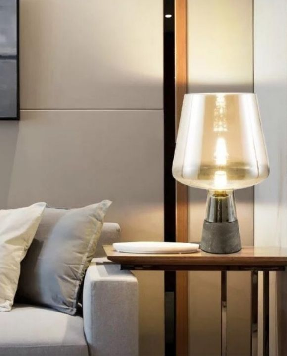 Trendy Amber Table Lamp | Minimalist Series