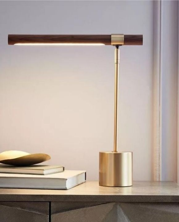 Trendy Oak Table Lamp | New Arrival