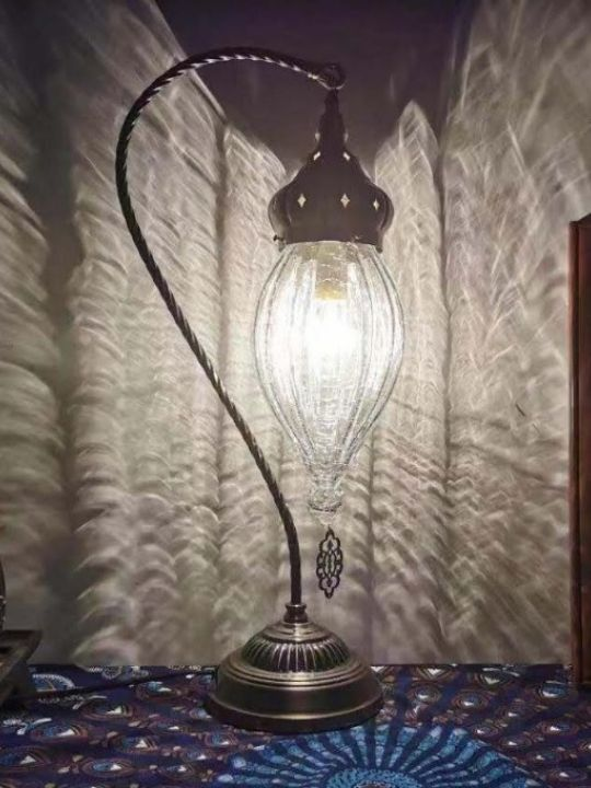 Vintage Casablanca Table Lamp | Moroccan Series