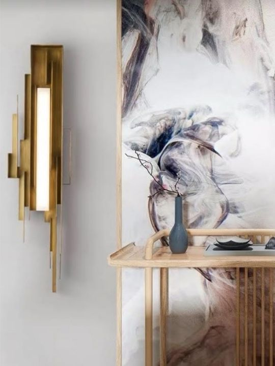 Gold Stylish Wall Lamp | Modern Design