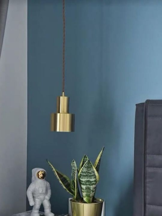 Gold Pendant Light | Minimalist Series