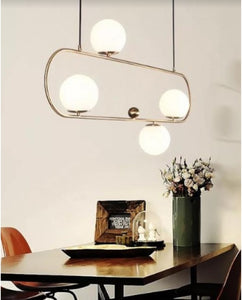 4 Glass Globe Pendant Light | New Arrival