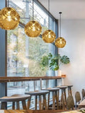 Trendy Gold Pendant Light | Designer Series