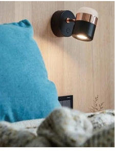 Black and Rose Gold Wall Light | New Arrival