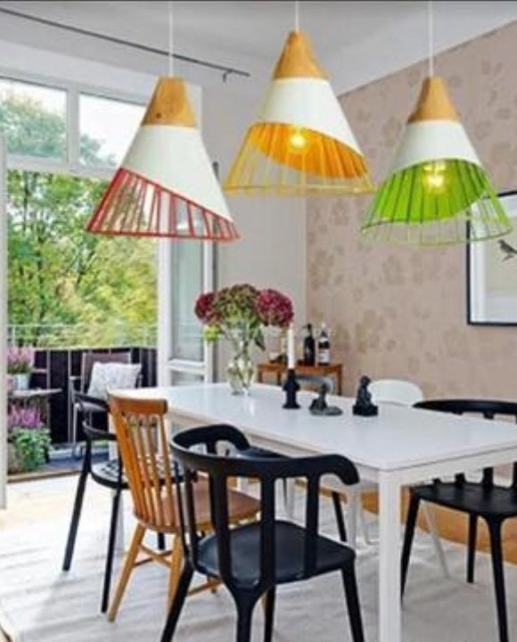 Cone-shaped Cage Pendant Light | Designer Series
