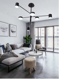 Black Torch Pendant Lamp | Designer Series
