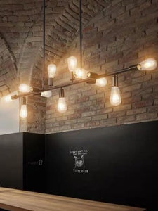 Industrial Black Pendant Light | Copper Series