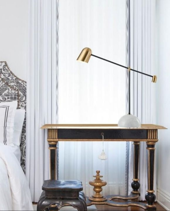 Trendy Gold Table Lamp | Designer Series