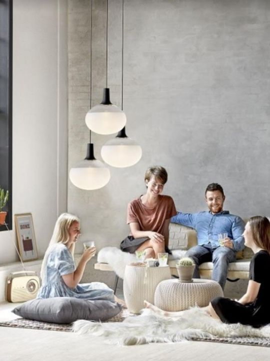 Modern Simple Glass Pendant Light | Minimalist Series