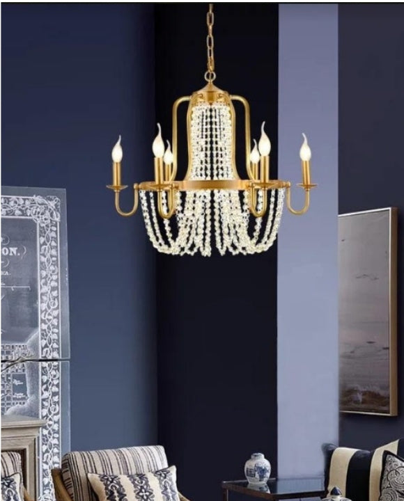 Gorgeous 6-candles Chandelier | Designer Series.