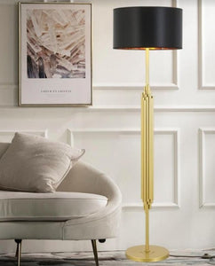 Ruby Gold and Black Floor Lamp | Stylish Series