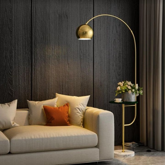 Miya Gold Floor Lamp | New Arrival
