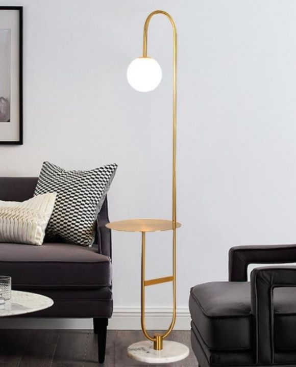 Argus Gold Glass Ball Floor Lamp | Trendy Series