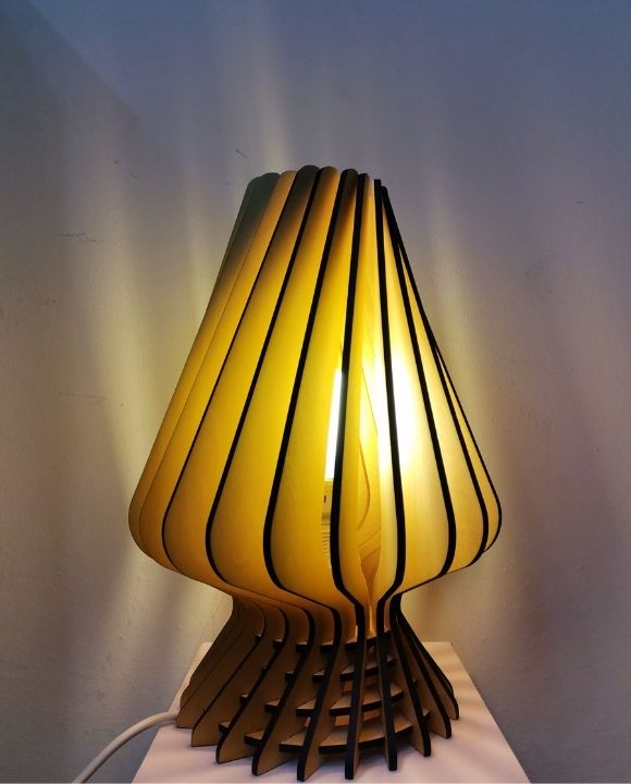 Kimmy Wood Table Lamp | New Arrival