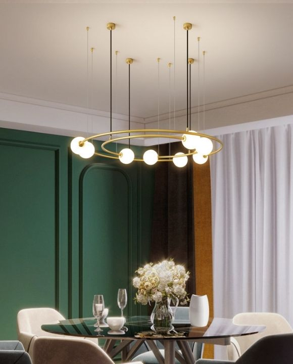 Roger Gold 8 Balls Pendant Lamp | Trendy Series