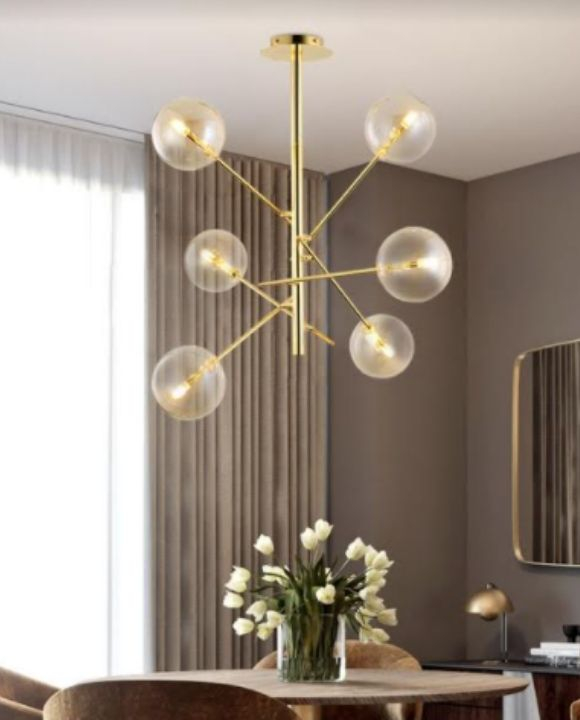 Brudy 6 Globes Pendant Light | Trendy Series