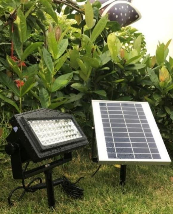 RGB Solar LED Flood Light | Outdoor