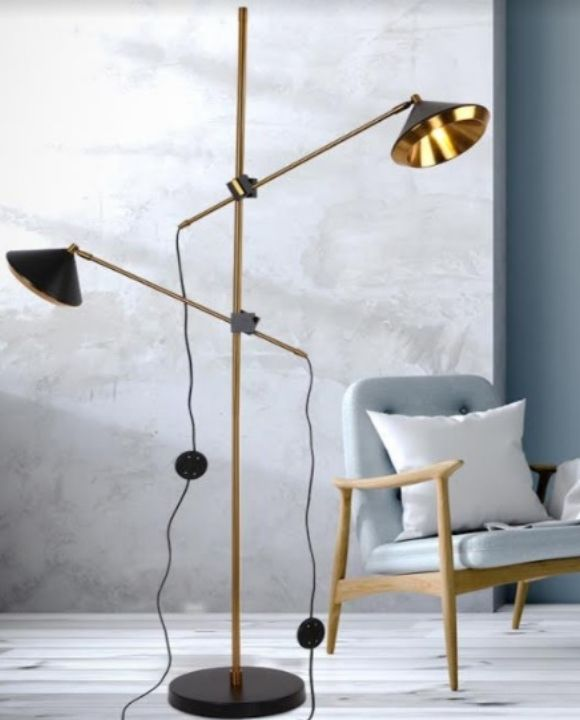 Lunox Adjustable Heads Floor Lamp | Modern Series