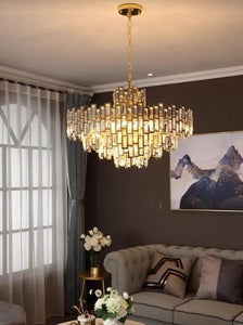 vintage chandelier tong ging lighting