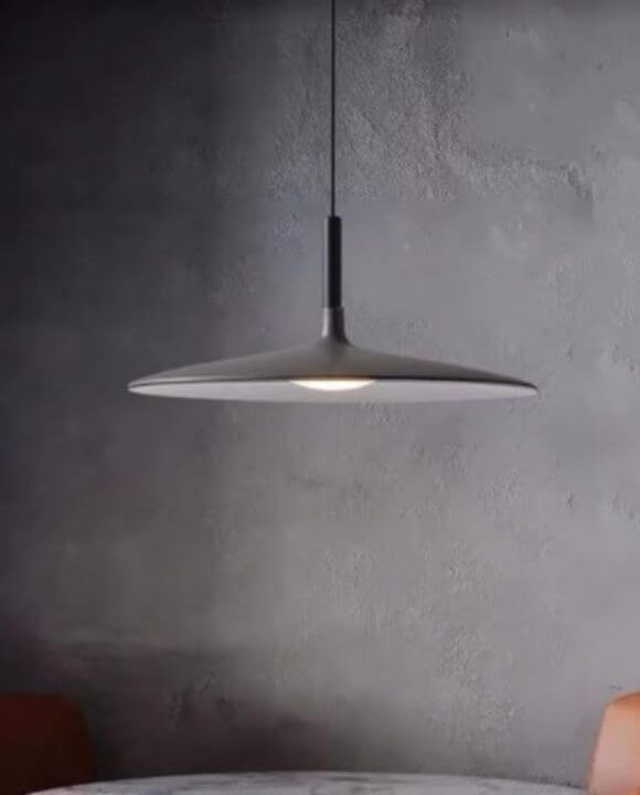 Leon Grey Modern Pendant Light | Designer Series