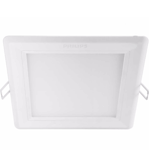 Philips LED Dimmable Downlight | 12w 6500k Hadron Square