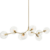 Gold Balls Pendant Light | Modern Design
