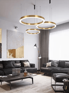 Contemporary Rings Pendant Light | Modern Design