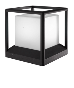 Square Outdoor Garden Light | Modern Design