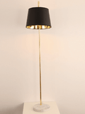 Elegant Black and Gold Floor Lamp | Modern Design