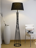 Stylish Black Floor Lamp | Modern Design