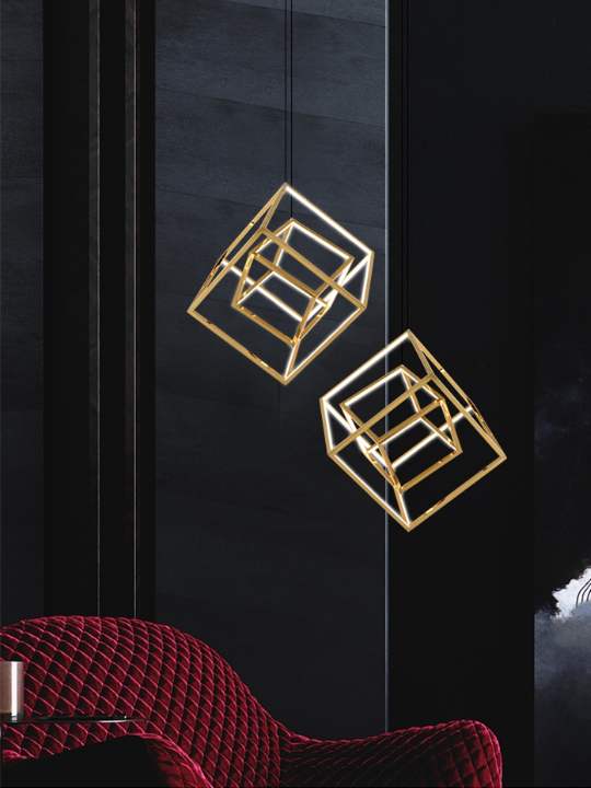 Urban Design LED Pendant Light | Aluminium