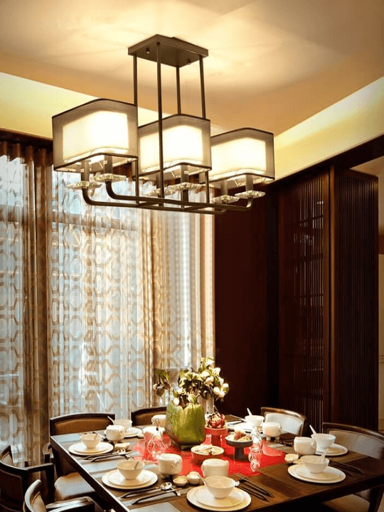 Contemporary LED Pendant Light | Dining Hall