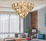 Gorgeous Gold Crystal Chandelier | Luxury Series
