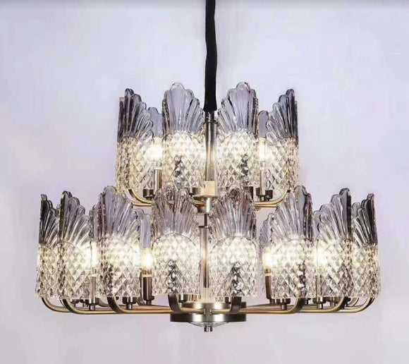 Grey Blue North America Chandelier | Classic Series
