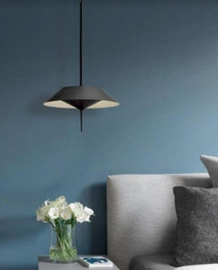 Lesley LED Black Pendant Light | Designer Series