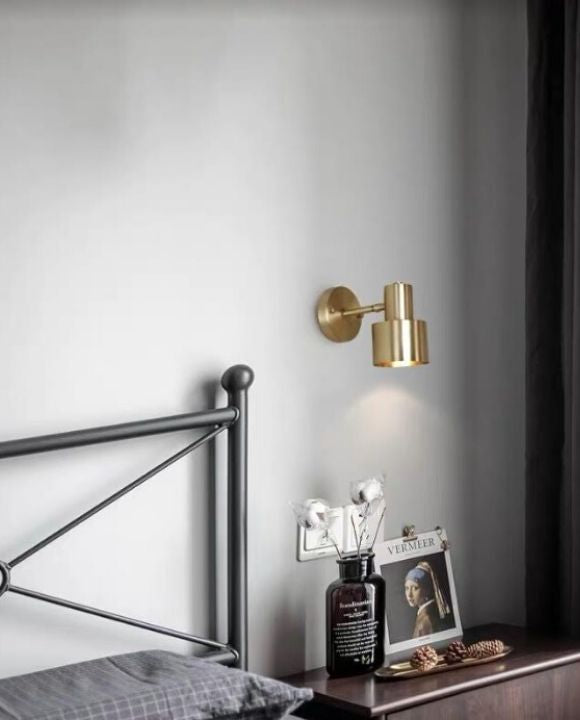 Kayla gold Wall Lamp | Industrial Series