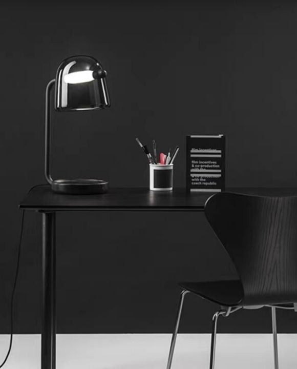 Baris Black LED Table Lamp | Urban Series