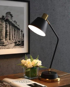 Nova Black and Gold Table Lamp | Urban Series