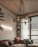 Ritana Gold and Black LED Pendant Light | Urban Series