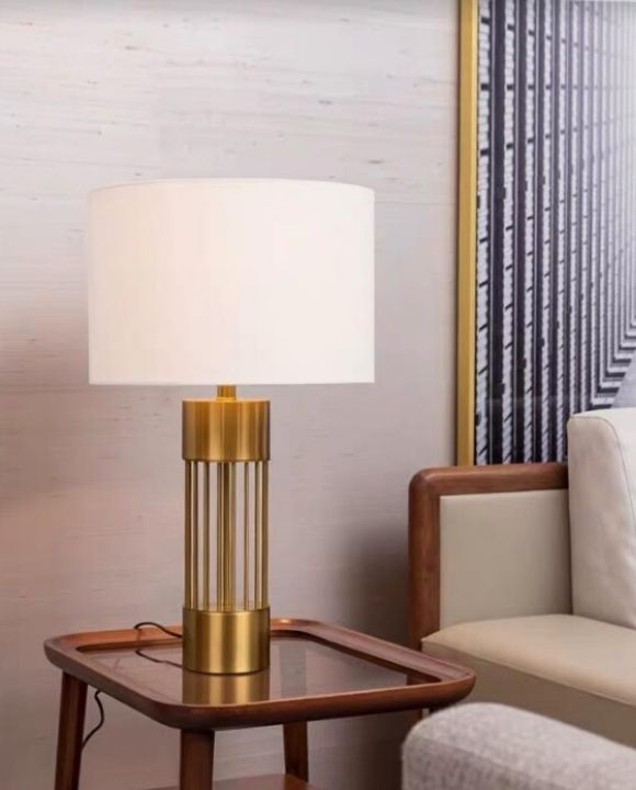 Giova Gold Table Lamp | Designer Series